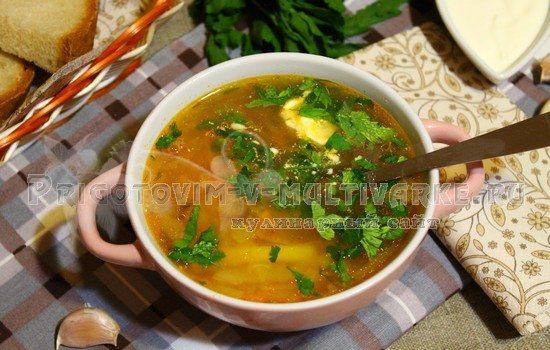 Суп щи с курицей рецепт