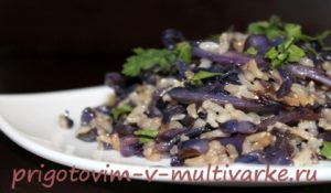 салат с красной капустой рецепт