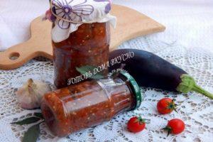 Томатный соус с баклажанами в мультиварке (рецепт на зиму)