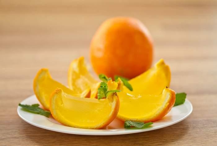 Апельсиновое желе – рецепт с фото