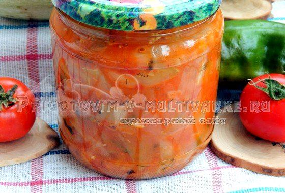 Как приготовить салат «Анкл бенс» из кабачков на зиму (рецепт с фото)