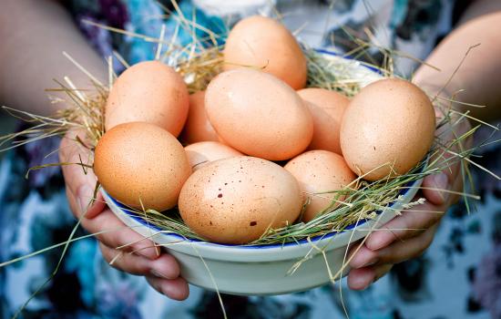 подготавливаем яйца