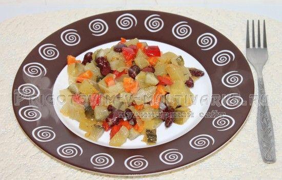 овощной салат готов