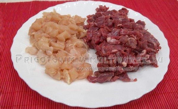 подготовить мясо для фарша
