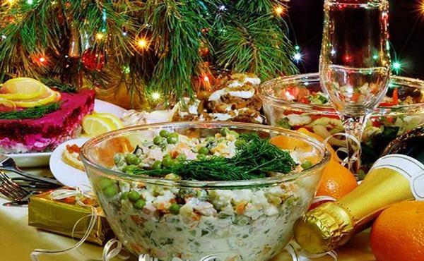 блюда на праздник