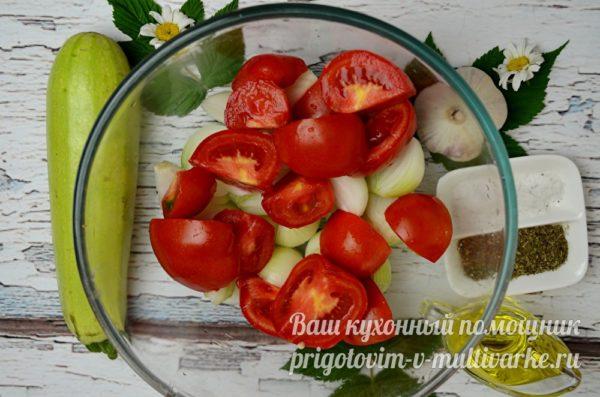 добавляют помидоры
