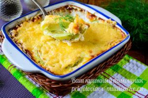 Кабачки с сыром в духовке