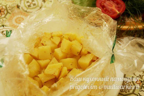 проверяем картошку га готовность