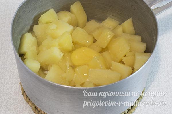 Картофель и яйцо