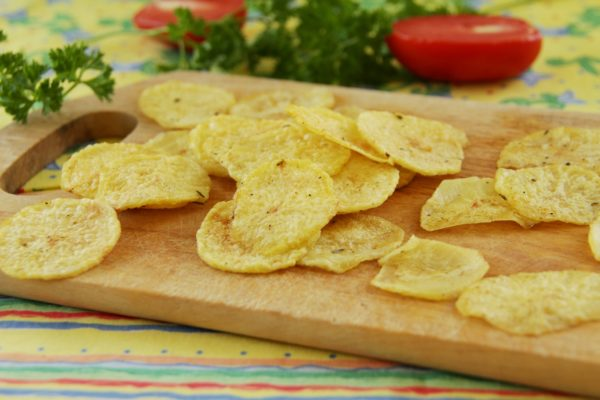 Подсушенные чипсы