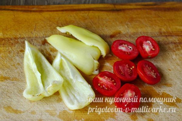 Приготовим овощи