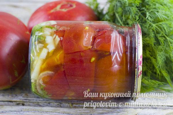 готовая закуска из помидор
