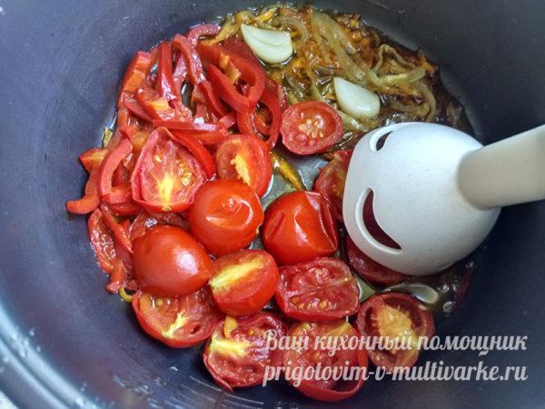 пюрирование овощей