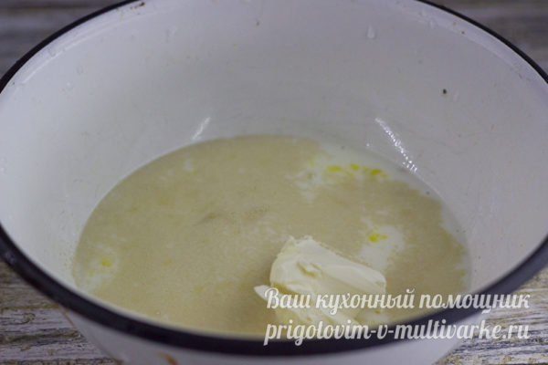 добавление масла