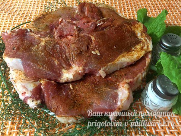 замариновать мясо