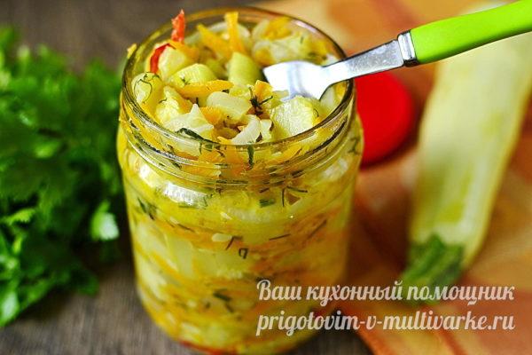 овощная закуска на зиму