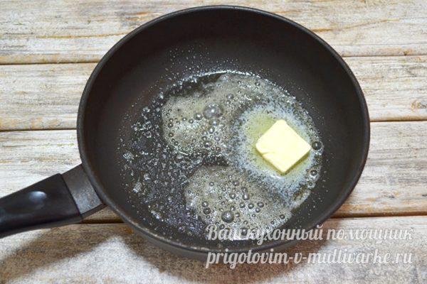 растапливание сливочного масла