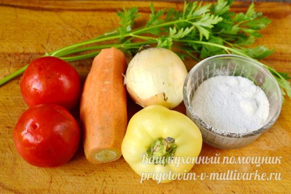 ингредиенты для заправки на зиму