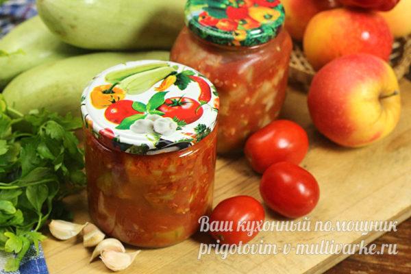 баночки с готовым салатом