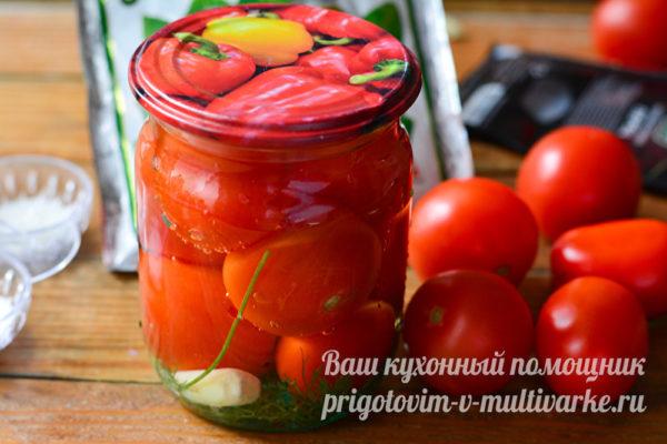 томаты готовы
