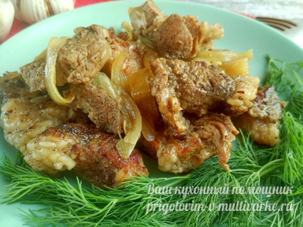 готовое блюдо из мяса