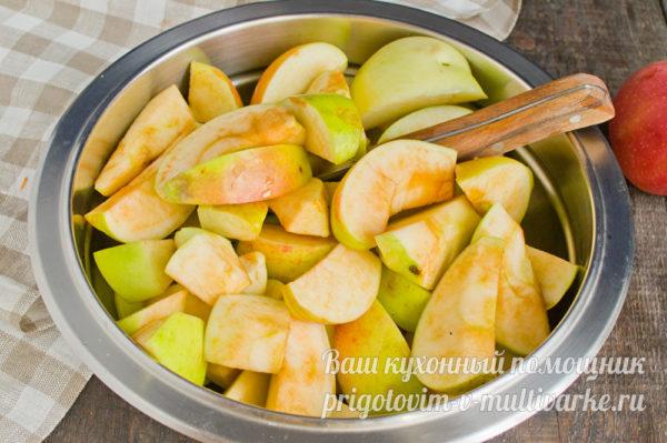 распарить фрукты