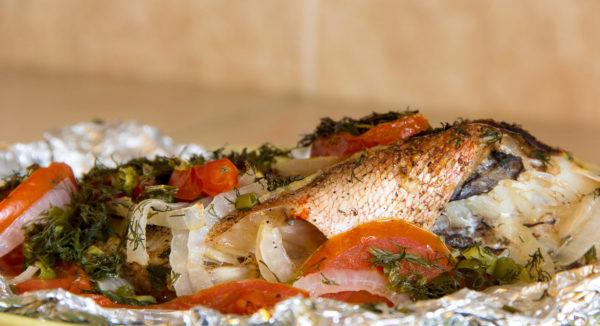 Рецепты приготовления красного морского окуня с фото