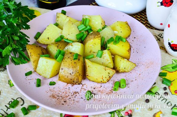 вкуснейшая запеченная картошка