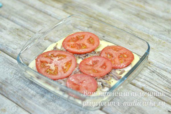 слой помидор