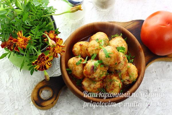 фрикадельки, приготовленные в духовке