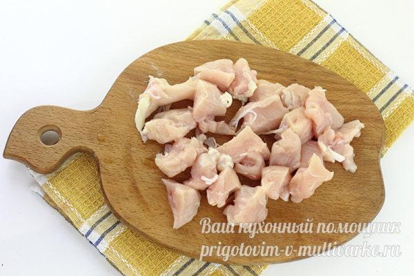 нарезанное филе