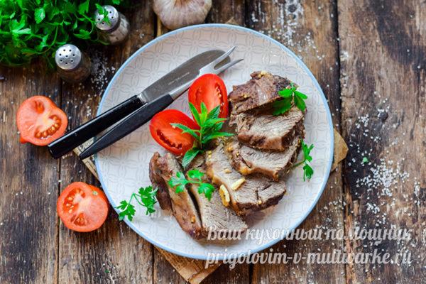 блюдо из мягкой говядины