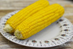 Кукуруза за 5 минут