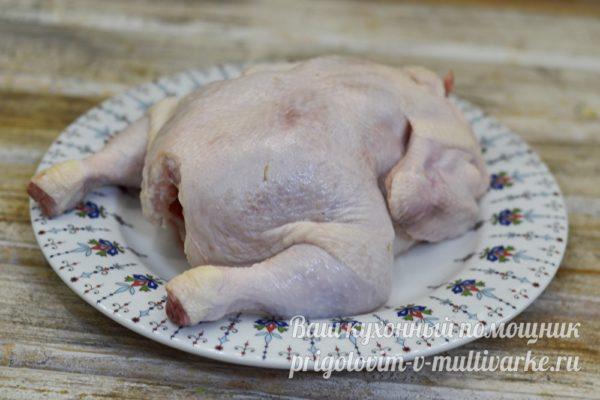 подготовленная курица