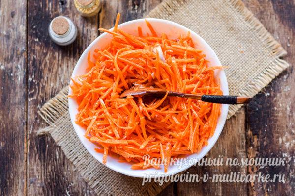 маринуем морковь