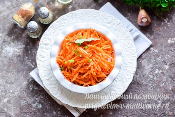корейская закуска из моркови