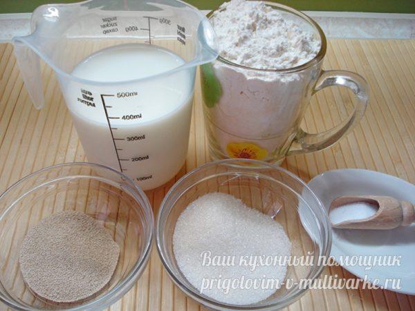 ингредиенты для опары