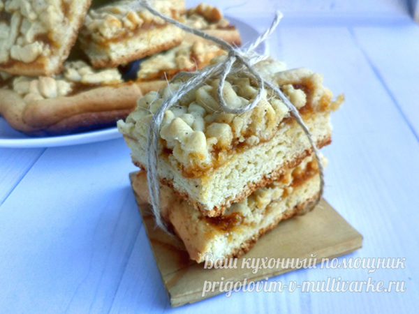 креативная подача пирога