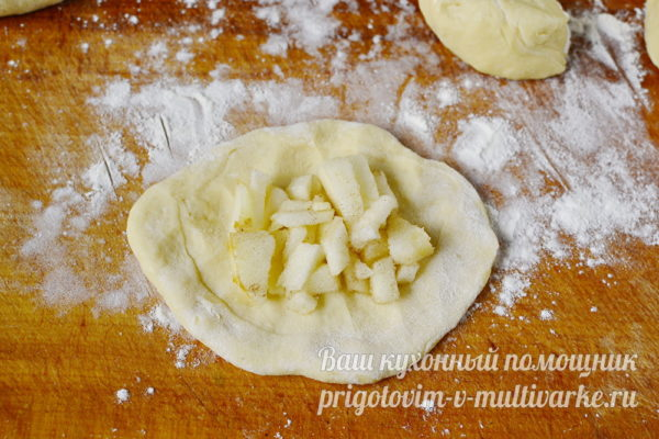формуем пирожки