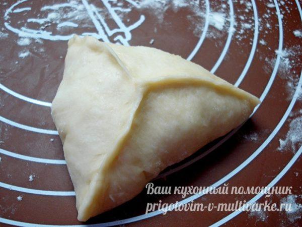 формуем пирожок