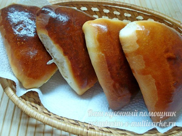 пуховые пирожки из духовки