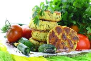 сырники с зеленью