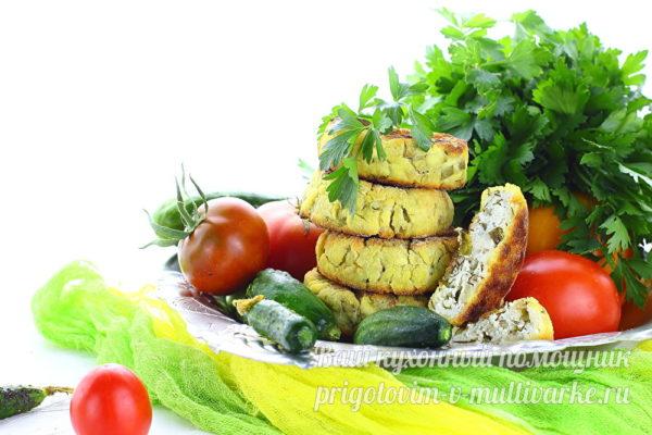 сырники с творогом и зеленью
