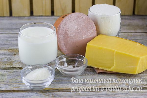 ингредиенты для лепешек