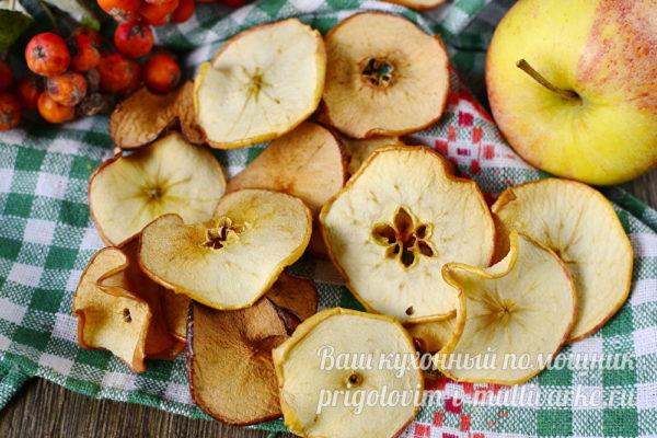 фруктовые полезные чипсы