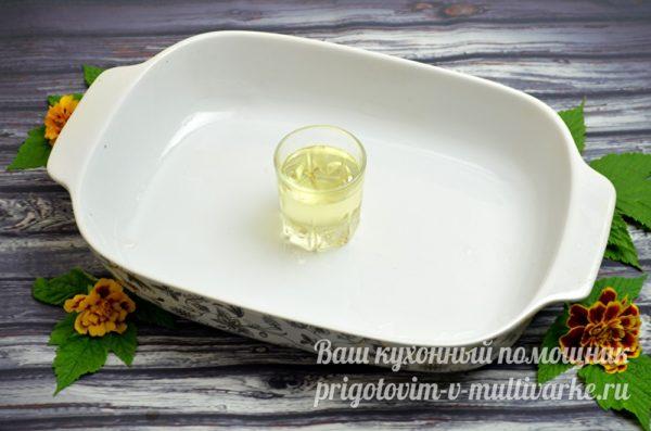 масло и форма