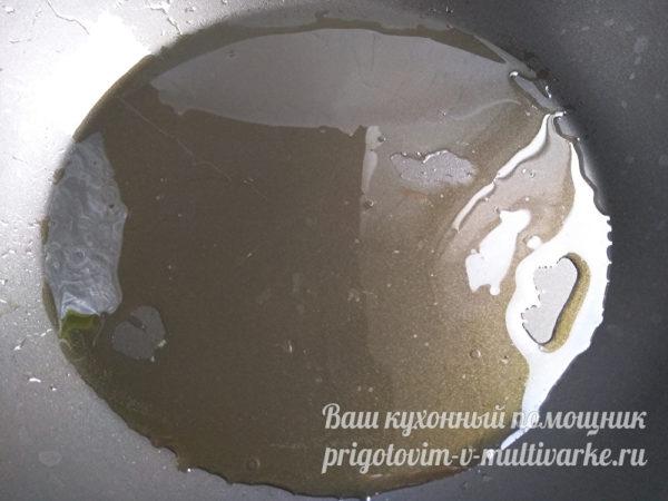 разогреваем масло