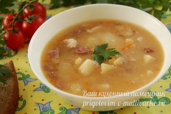 аппетитный гороховый суп
