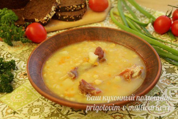 наваристый гороховый суп
