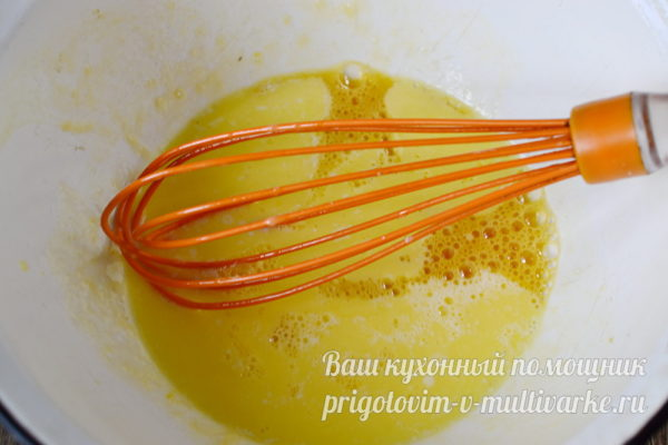 добавляем маргарин
